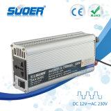 Suoer 500W Onde sinusoïdale modifiée hors réseau avec convertisseur de puissance 10un chargeur de batterie (SAA-500C)