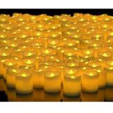 El parpadeo del LED pequeña Cera de té luz de la vela