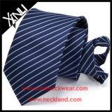 Cravatta della chiusura lampo dell'uomo tessuta poliestere perfetto del nodo