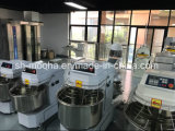 Máquina de amasso da farinha dos equipamentos da padaria de Commerical/misturador de massa de pão espirais