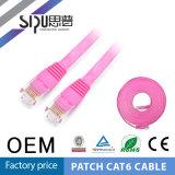 Câble plat de la connexion CAT6 de cordon de connexion de la qualité CAT6 de Sipu