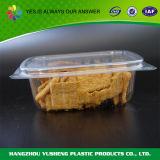 투명한 플라스틱 과자 상자, 포장 음식 콘테이너