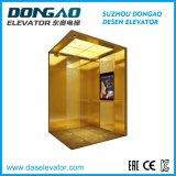 Elevatore caldo del passeggero di vendita di Das con la decorazione dorata acquaforte
