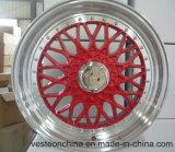 Алюминиевый сплав катит оправу с 5 отверстиями для автомобиля (17 '')