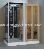 Sauna combinada a vapor de 1700 mm com chuveiro (AT-D8856)