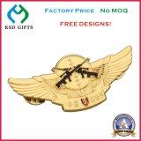 記念品の金属Epolaは制作する翼のバッジ(KSD-1157)を
