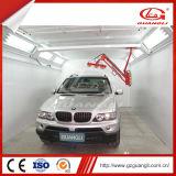 Будочка краски брызга автомобиля вытыхания высокого качества изготовления Guangli дешевая задняя с подвижным топлением инфракрасного света