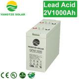 Sunstar Dry Cell Battery 2V 1000ah para Solar
