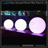 PE material de rotación de plástico moldeado bola LED