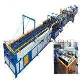 Máquina de conduta de ar HVAC para produção de tubos e formação de tubos