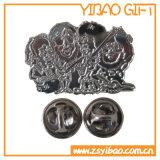 Штыри металла Pin отворотом эмали дельфина Cortoon изготовленный на заказ логоса милые маленькие голубые с подарком /Pins значка школы (YB-HD-71)