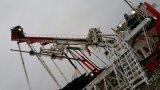 Piattaforma di produzione di workover multifunzionale del giacimento di petrolio con costruzione delle reti di fognatura
