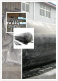 Sac gonflable en caoutchouc pour le lancement et le sauvetage de bateaux