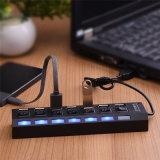 7 Kanäle USB-Naben-Aufladeeinheit Hochgeschwindigkeits-USB 2.0