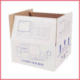 Boîte en carton ondulé blanc avec logo de l'impression Boîte d'expédition Blanc Blanc Blanc boîte en carton  Emballage