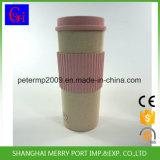De nieuwe Materiële Kop van de Koffie van de Vezel van de Tarwe Biologisch afbreekbare