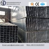 Tubo de acero cuadrado Pre-Galvanizado Q235D de ERW