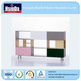 Capas baratas del polvo de los muebles del MDF de la curación de la baja temperatura del precio