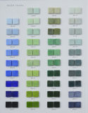 Mattonelle blu del mosaico di vetro per la piscina, materiale decorativo della STAZIONE TERMALE