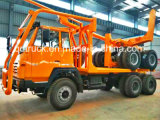 HOWO logging trucker truck, Timber loader truck, log Loader truck