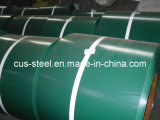 Colorear la placa de acero revestida de Galvanzied/la bobina de acero prepintada primera