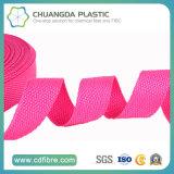 las correas rosadas del polipropileno 600d para hacen el bolso