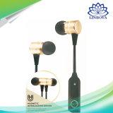 携帯電話のためのセリウムの証明書が付いている小型無線Bluetoothの耳の音楽プレーヤーのイヤホーンのヘッドセット