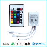IRボックスRGB LEDライトストリップのための遠隔コントローラ24のキー