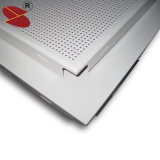 Wasserdichte perforierte verschobene Decken-Aluminiumfliese 60X60