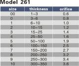 Мундштук резака отверстия 0.6-3.6 Airco модели 261