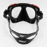 Het professionele Aangemaakte Masker van de Scuba-uitrusting van het Glas Beste (mk-202)