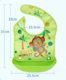 Promoción ecológica de neopreno resistente al agua babero de bebé