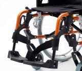 Sedia a rotelle leggera, pieghevole, manuale di alluminio (AL-002B)