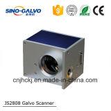 Grabador profesional del laser del Galvo del surtidor Js2808 para la joyería