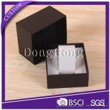 Rectángulo de empaquetado de Cardbpard del reloj de encargo de lujo del papel, rectángulo de regalo del reloj