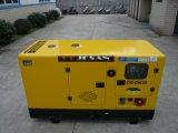 Il baldacchino rotondo ha progettato Gensets diesel silenzioso da 10kw a 50kw