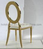 Рестораны моды из нержавеющей стали овальной формы свадебных стул (ЛЕВЫЙ-610Y)