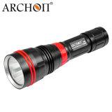 1200lm Toorts 26650 van het Koude Witte LEIDENE Flitslicht van het Vrij duiken Licht