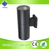 High Power IP65 Outdoor 2 * 18 * 1W LED Wall Light