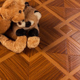 Alta calidad de suelos laminados de madera de teca Eden
