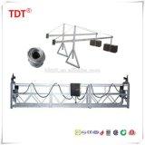 Gondole d'échafaudage de berceau d'accès de plate-forme suspendue par acier galvanisé à chaud de la CE Zlp800