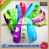 Nuovo Wristband del silicone con la certificazione dello SGS
