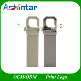 Aço inoxidável pendrive USB Memory Stick USB à prova de mini-Unidade Flash USB