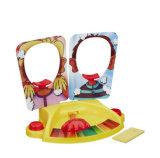 Het dubbele Stuk speelgoed van de Nieuwigheid van het Gezicht van de Pastei Plastic