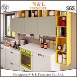 Modularbauweise-Ausgangsmöbel-hölzerner Küche-Schrank