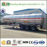 Hoge Capaciteit 40000 Van de Stookolie Liter Aanhangwagen van de Tank van de Semi