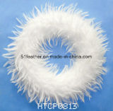Feather Christmas Wreaths & Garland