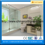 8mm、10mm、Acid Etched Tempered Glass Showerdoor