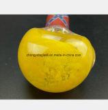 3.54 Zoll gelbe Pfeife-für Filter-Öl-Glas-Rohr