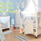 BBS208 европейской роскошью стеганая новорожденный ребенок расслабьтесь и постельные принадлежности, мальчик, постельные принадлежности устанавливает 100%хлопок
